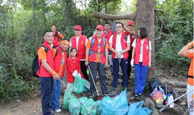 青春足迹—了解公益文化,参与清洁山林志愿服务